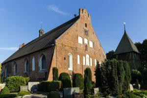 St.Petri Kirche in Landkirchen auf Fehmarn