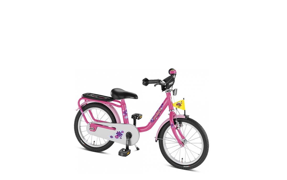 """Puky Z6 - Das robuste 16"""" in der Farbe Pink für Mädchen"""
