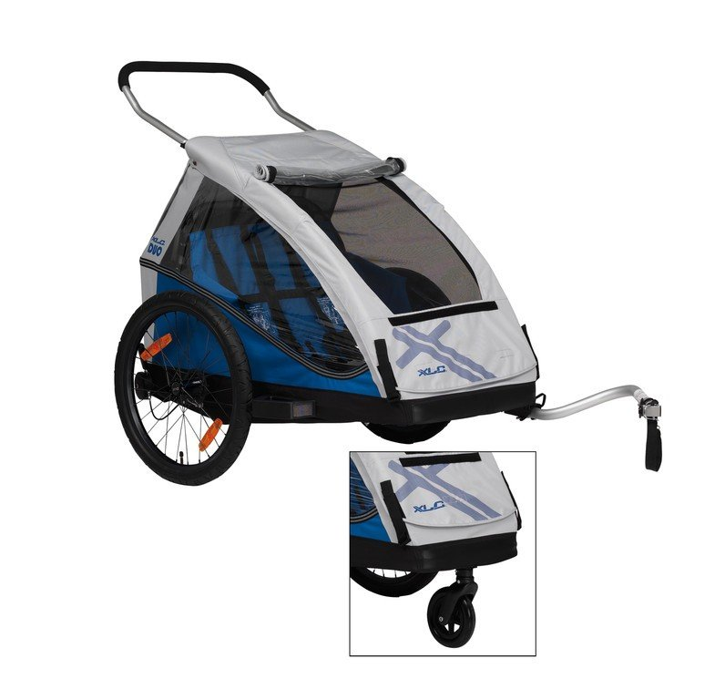 XLC Duo2 der 2-Sitzer mit Gepäckfach und optionalem Stützrad